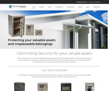 Platinum Safes are digitally delighted to launch our new website.