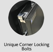 Unique Corner Locking Bolts
